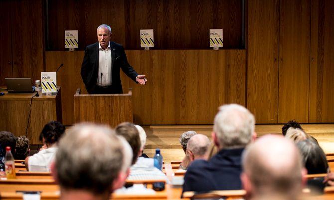 Avdelingsingeniør ved avdeling for krisehåndtering, beredskap og sikkerhet i Justis- og beredskapsdepartementet Per Olaf Torkildsen.