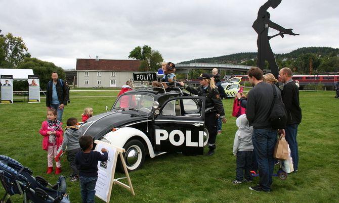 I fjor fikk de som kom på politiets dag se kanskje politiets mest kjente bil i Romerike politidistrikt.
