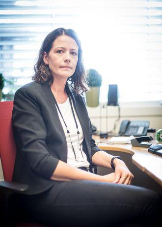 Merete Christin Beck, leder for utlendingsseksjonen i Østfold politidistrikt.