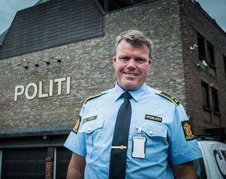 Lederen for Politilederlaget i Vestfold, Petter Aronsen