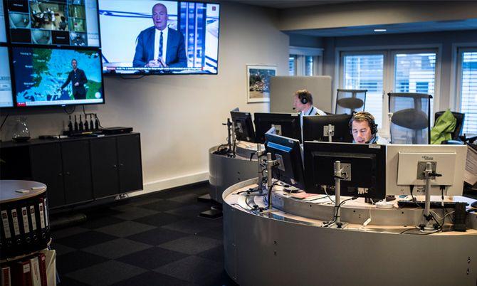 Etter reformen skal fire operasjonssentraler i Sør-Øst bli til én. I Søndre Buskerud håper de på å bli sittende.