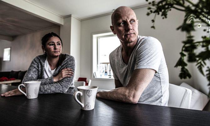 Anita Kjønnøy og Stein Frode Haugbjørg har gått gjennom et to år langt mareritt.