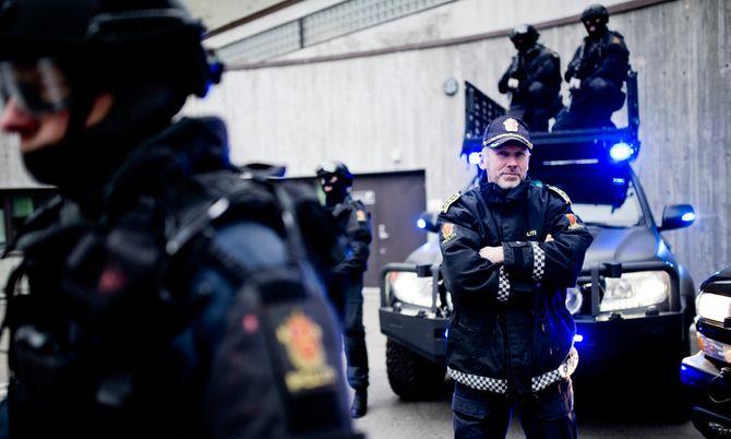 Anders Snortheimsmoen var i mange år sjef for Beredskapstroppen. Her fra en reportasje i forbindelse med at han sluttet i jobben i 2014.