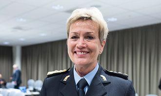 Kirsten Lindeberg, politimester i Agder politidistrikt.