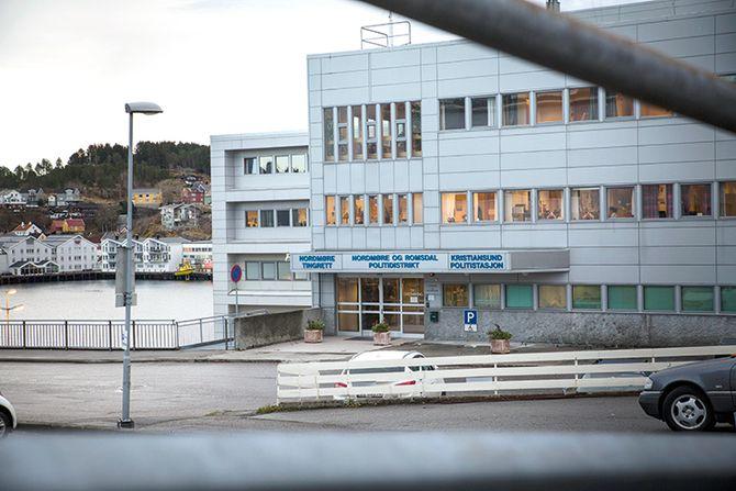 Tapte kampen: Politihuset i Kristiansund blir ikke hovedsete for det nye Møre og Romsdal politidistrikt. Politimesteren, staben og operasjonssentralen skal ligge i Ålesund.