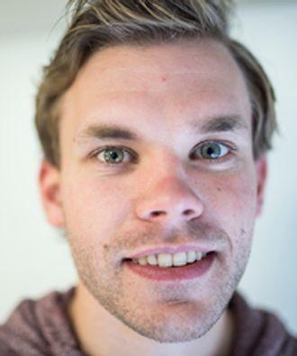 Fredrik Svendby Engen, leder for PF-studentene.