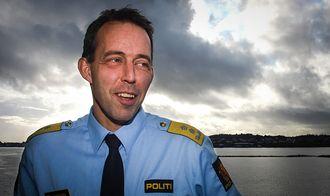 Sheriff? Politimester i Vest politidistrikt, Kaare Songstad.