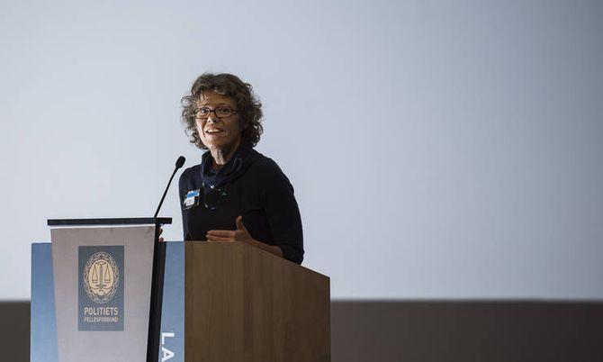 HR-direktør Karin Aslaksen.