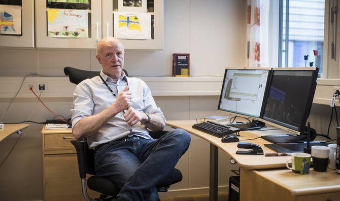 Leif Riise, prosjektleder for 3D-skanning ved Kripos, mener skanningen gir unike muligheter for politiet i enkelte tilfeller. Han håper flere vil be om bistand fra 3D-skanning på Kripos.