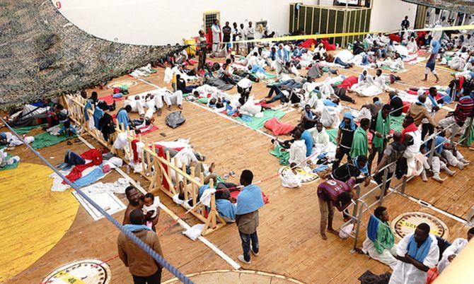 Siem Pilot har hittil reddet 16.430 migranter.