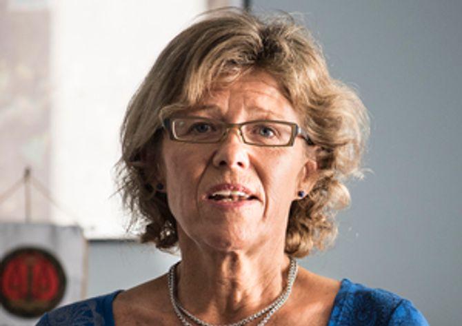 Karin Aslaksen er HR-direktør i Politidirektoratet.