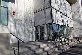 Her i Gjøvik tinghus vil rettssaken gå for retten fra tirsdag ti fredag.