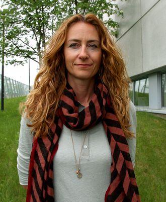 Lokallagsleder Kristin Aga i Oslo politiforening er bekymra for økonomistuasjonen.