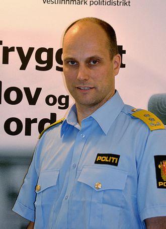 Torbjørn Aas fra tiden som politimester. Nå er han direktør i helsesektoren.