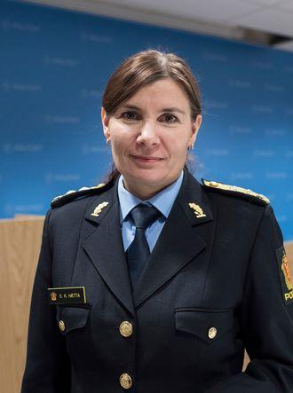 Ellen Katrine Hætta, politimester.