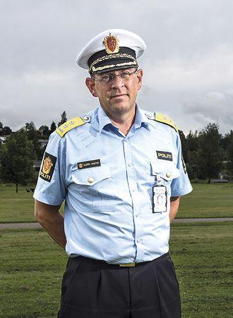 Bjørn Vandvik, tidligere politimester på Romerike og nå fungerende leder i Øst politidistrikt, er glad for å kunne bidra til spleiselaget. Men spleiselaget betaler han ofte mye for selv.