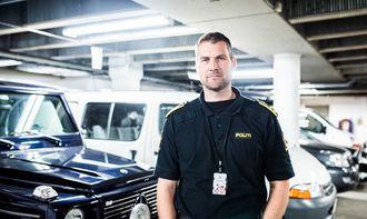 Geir Håland er instruktør hos politiet i Bodø. Han håper på å beholde dagens treningsregime også i nytt distrikt.