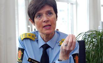 Ingelin Killengreen fra tiden i uniform og som sjef for etaten.