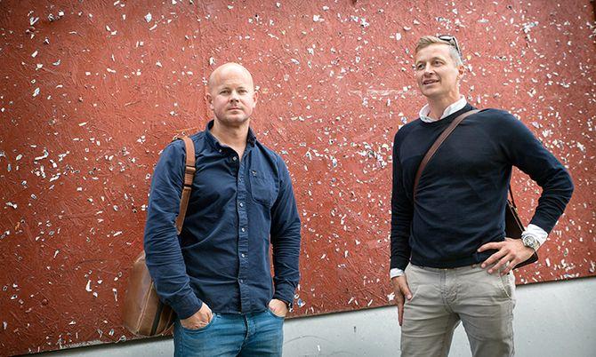 Martin Todnem og Dag Sandham har skrevet masteroppgave om bevæpning, og var selv overrasket over funnene de gjorde.