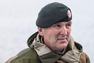 Sjef for Forsvarets operative hovedkvarter, Rune Jakobsen.