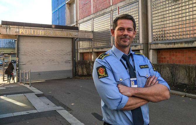 Ole Halvar Larsen, tillitsvalgt ved Politihøgskolen.