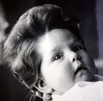 Manken til tre måneder gamle Eva Ragde var så imponerende at den til og med kom i avisa.