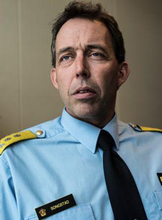 Politimester i Vest politidistrikt, Kaare Songstad.