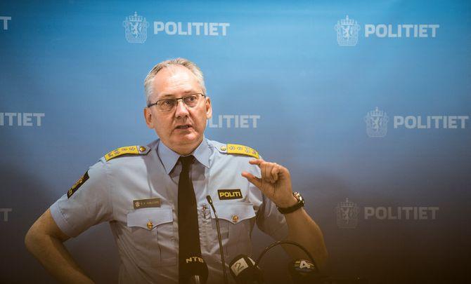 KREVER DISIPLIN: Politidirektør Odd Reidar Humlegård.