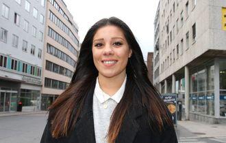 Elisa Hugvik, leder for PF-studentene.