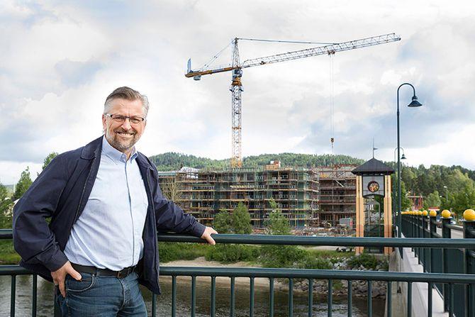 Sjur Strand, ordfører i Kongsvinger, er fornøyd med å ha bitt lyttet til.