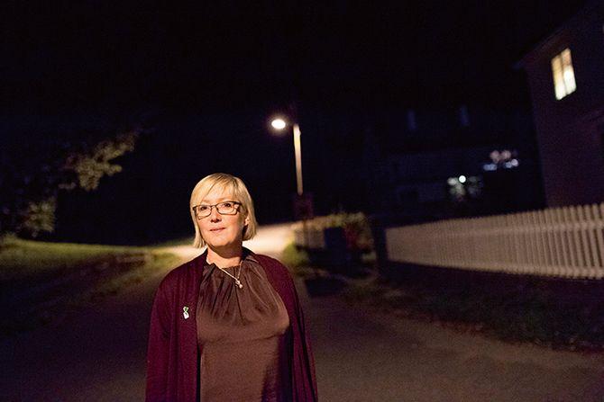 Frida Melvær er ordfører for Høyre i Askvoll kommune i Vest politidistrikt.