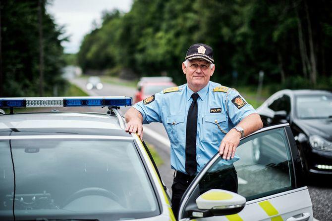 KRITISK: UP-sjef Runar Karlsen er svært kritisk til å legge ned Utrykningspolitiet.UP består i dag av 14 ledere og 350 ansatte.