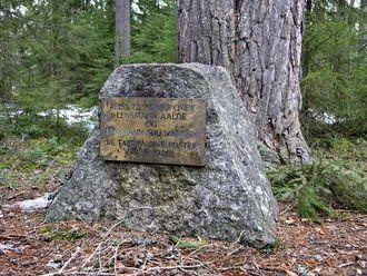 Minnestedet etter lensmannsdrapene i 1926.