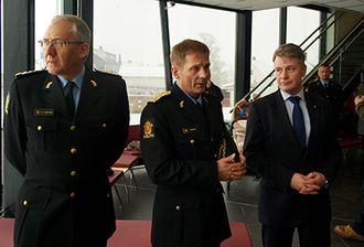 Odd Reidar Humlegård, Johan Brekke og Per-Willy Amundsen.