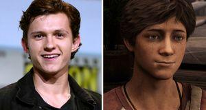 Spider-Mans Tom Holland spiller en ung Nathan Drake i Uncharted-filmen