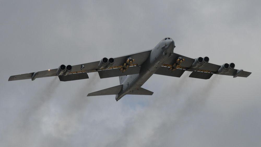 Et av 76 operative B-52H Stratofortress. Bombeflyet skal delta på ACE17.