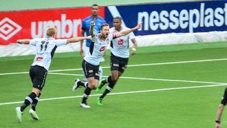JARNMANNEN ATTENDE: Hannu Patronen spelte sin første kamp sidan 4-3 sigeren mot Molde. Denne gongen vart det verken mål eller tre poeng på den oppofrande finnen.