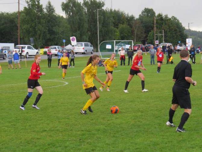 TAP: Syril sette det første målet, men tapte kampen 4-1.