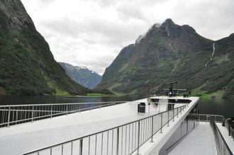 STORSLÅTT NATUR: Blant høge fjell og vakker natur syner Vision of the Fjords fram det beste av norsk natur.