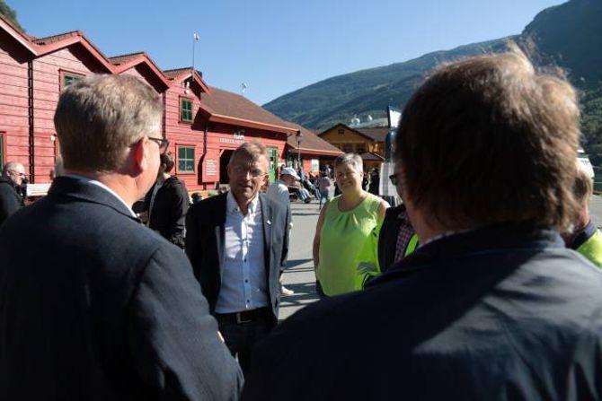 POSITIV: Medlem i Energi- og miljøkomiteen på Stortinget, Odd Henriksen (H), er positiv til kraftutbyggjing i verna vassdrag som flaumdempande tiltak.