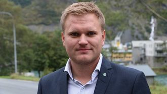 UROLEG: At pressekonferansen finn stad på Geilo gir grunn til uro for Aleksander Øren Heen (Sp).