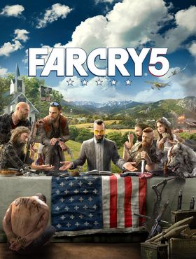 Konseptkunst for Far Cry 5.