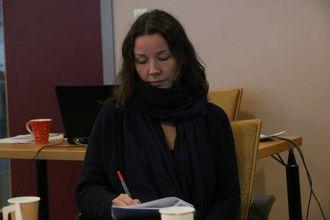 INTERESSANT: Varaordførar i Årdal, Sandra Opheim, møtte også valdrisene, og fann møtet interessant. Arkivfoto