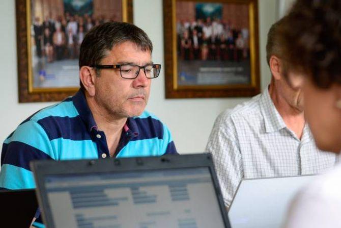 FULL TILLIT: Kjetil Kvåle og Arbeidarpartiet støttar eigen rådmann fullt ut.