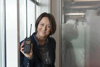 UTVIDING: Direktoratet for Nødkommunikasjon (DNK) her ved Nina Myren, avdelingsdirektør,står bak prøveprosjektet i samarbeid med fylkesmennene i Sogn og Fjordane og Vestfold.