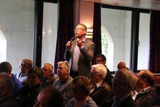 RV. 7-FORKJEMPAR: Dagleg leiar for Hardangerviddatunnelene, Harald Victor Hove, her under møtet der Vegvesenet for andre gong tilrådde Hemsedalsfjellet. Arkiv