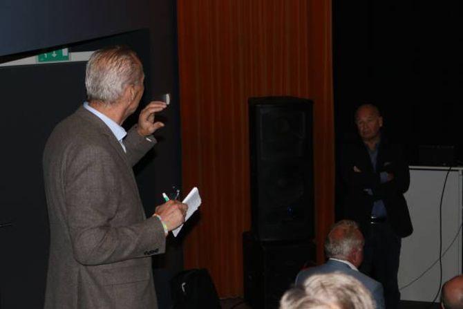 KRAFTSALVE: E-CO-direktør Odd Øygarden fortel Statnett-direktøren kva han meiner om kor løysingsorienterte linjeleverandøren er.