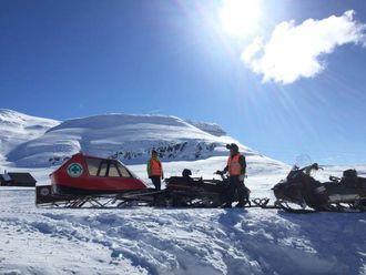 MANGE OPPGÅVER: Folkehjelpen har mange forskjellige oppgåver og oppdrag, spesielt på vinteren.