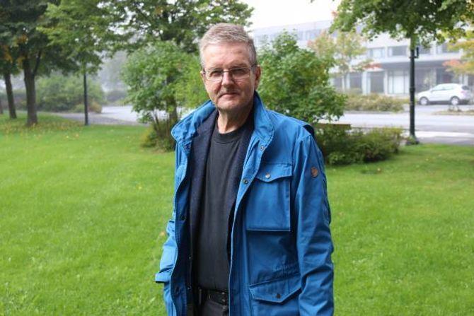 DRAMATISK: Jarle Offerdal (AP) meiner dobbelt så høge blokker på Einemomarki som eksisterande reguleringsplan legg opp til er ei dramatisk endring.