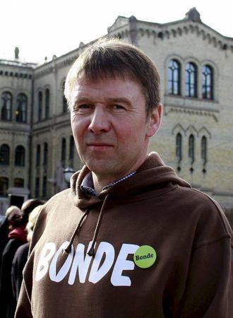 SPYDSPISS:– Eg håpar norsk landbruk kan bli ein spydspiss i klimasmart matproduksjon, seier leiar i Norges Bondelag Lars Petter Bartnes. Arkiv